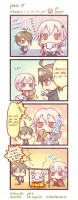 Guilty Crown - yonkoma 1: Hambre